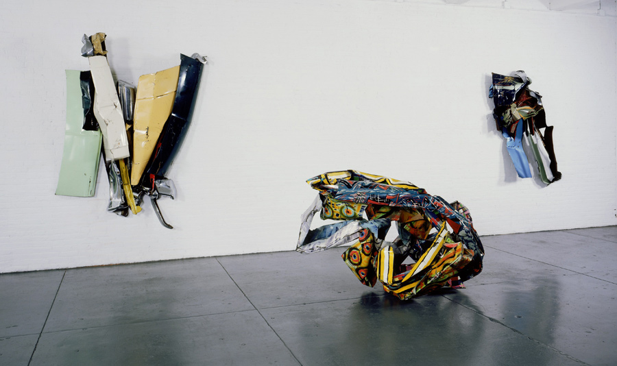 John Chamberlain at Ayn Foundation, 1976-1997