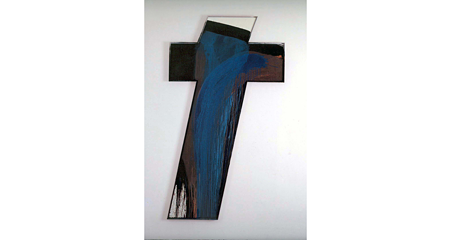 Arnulf Rainer, Young Cross at Ayn Foundation