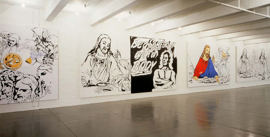 Andy Warhol's The Last Supper at Ayn Foundation, New York